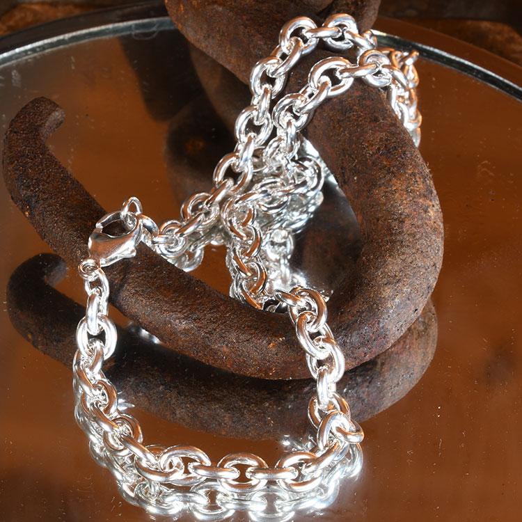 Ankerketten aus Silber